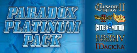 Sélection de jeux Paradox en réductions sur PC - Ex : Paradox Platinium Pack (Dématérialisé - Steam)