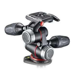 Rotule Manfrotto MHXPRO-3W - 3 dimensions - Noir