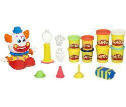 Pâte à modeler Play doh Clown + 4 pots gratuits