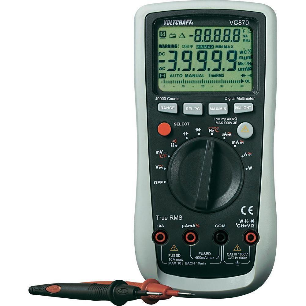 Sélection d'articles à 50% - Ex : Multimetre numerique Voltkraft VC870 CAT-III 1000W - 600V