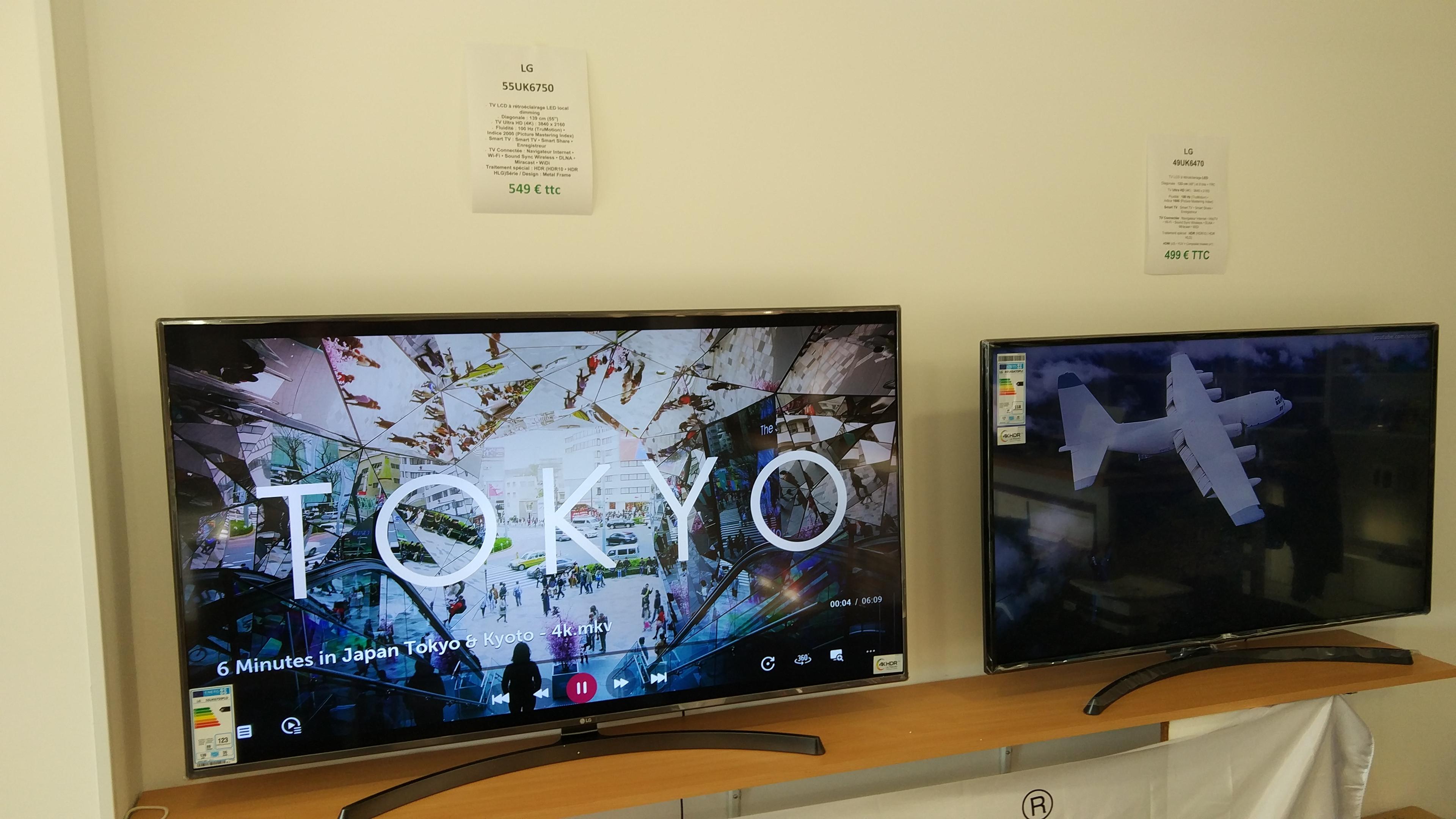 """TV 55"""" LG 55UK6750PLD (4K UHD, LED, Smart TV) - Micro Plus Arles (13)"""