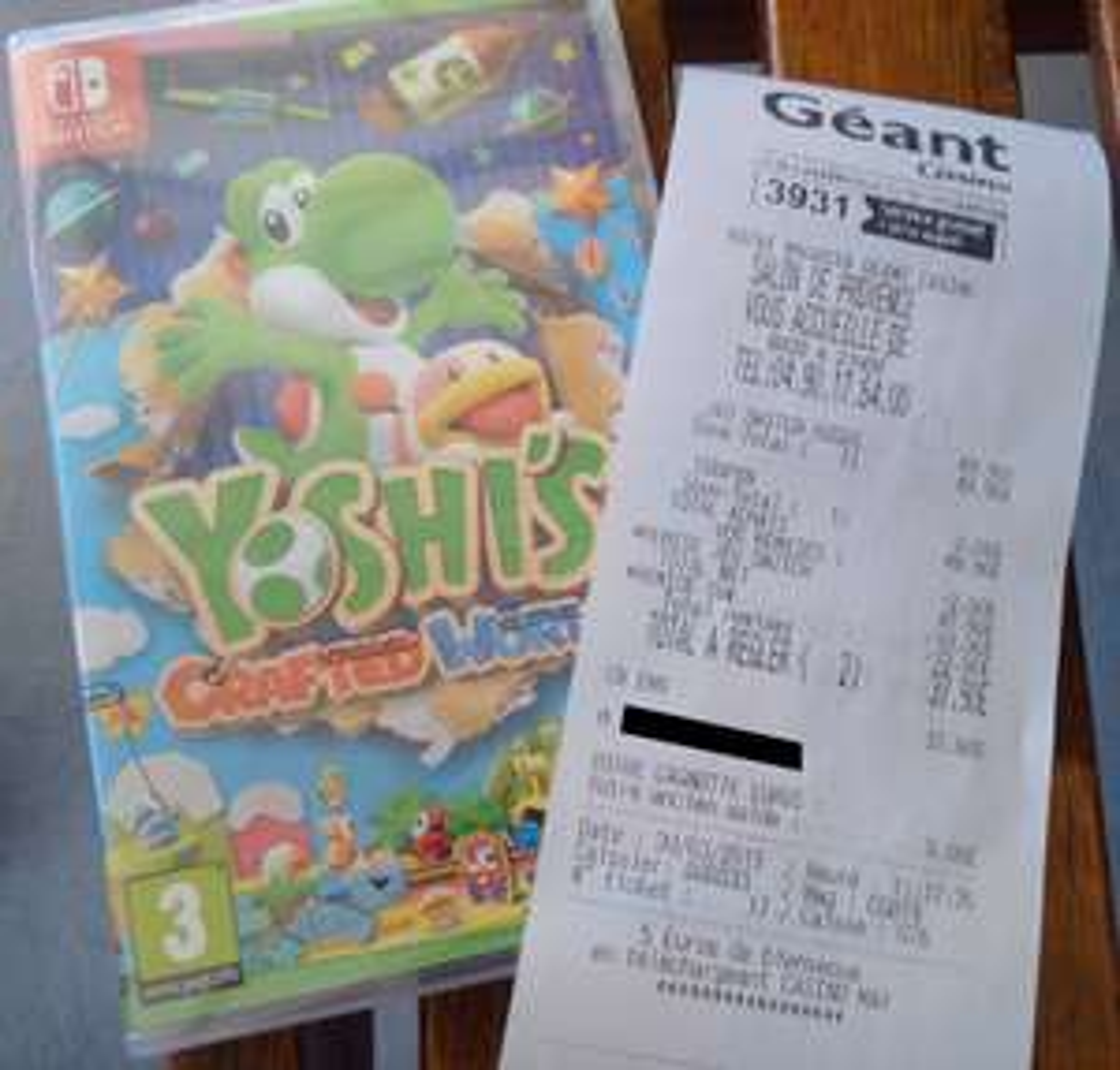 [Carte fidélité] Jeu Yoshi's Crafted World sur Nintendo Switch
