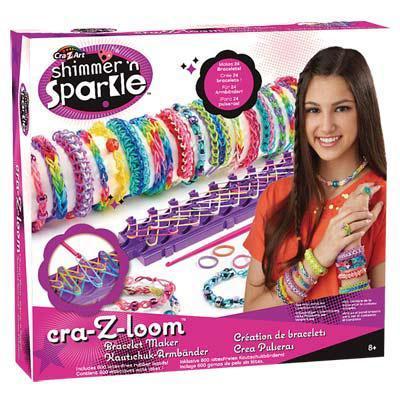 50% de réduction sur une sélection de plus de 400 jouets - Ex : Fabrique à bracelets Cra-Z-Loom