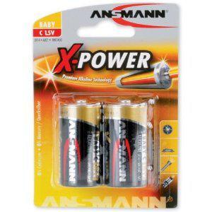 Ansmann Pile Alcaline LR14 X 2 Xpower