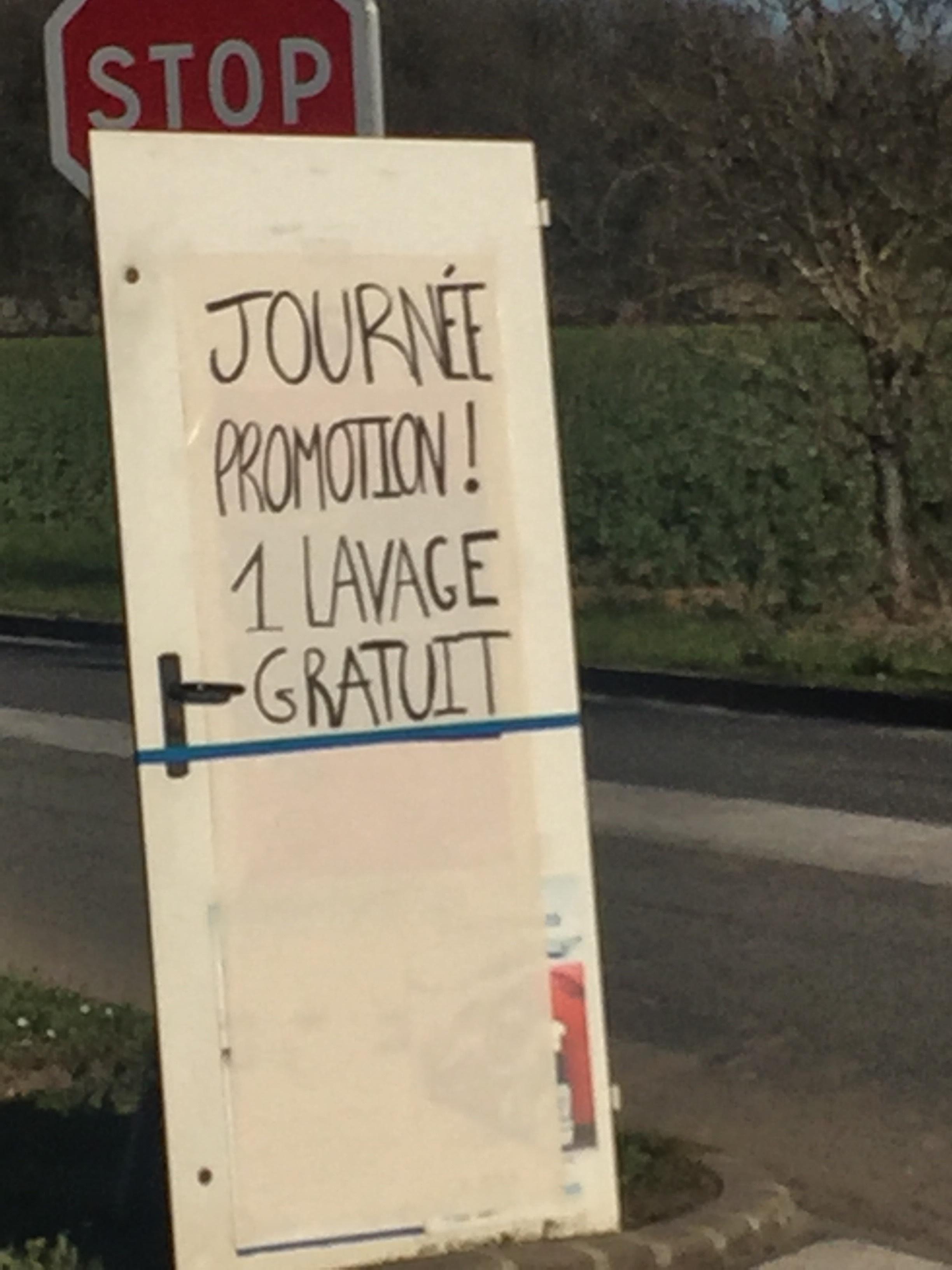 Lavage voiture gratuit - Vlc Lavage Villeneuve le comte (77)