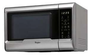 Micro-ondes Grill   Whirlpool MWD322SIL - 800W  - 20 Litres