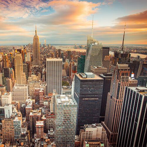 Sélection de vols A/R directs Paris (CDG) - New York (JFK) avec la compagnie American Airlines - Ex : Du 02 au 10/12 à partir de 236€