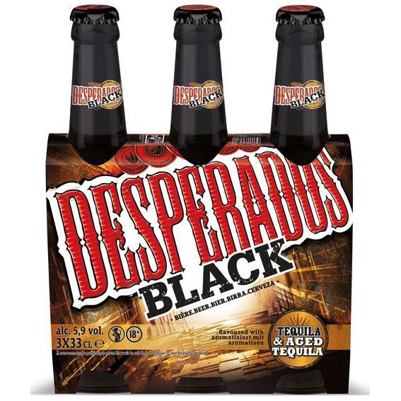 Pack de 3 bières 33 cl - Desperados Black (Shopmium + BDR)