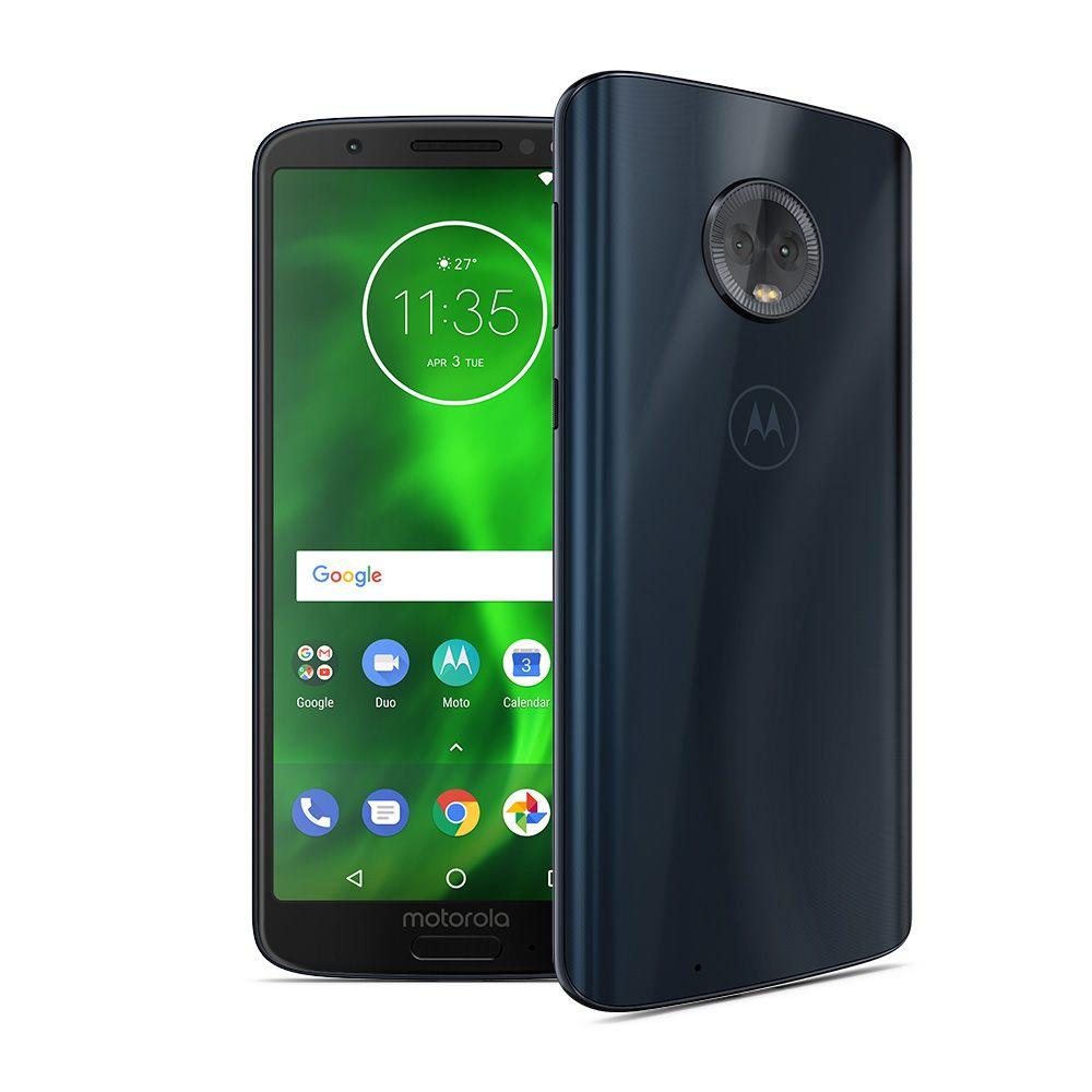 "Smartphone 5,7"" Moto G6 Deep Indigo - Full HD+, Snapddragon 450, 3Go RAM, 32Go ROM, USB-C, Dual-SIM"