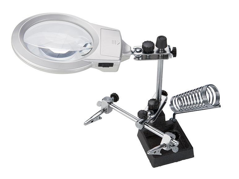 Loupe à LED Powerfix pour travaux de précision