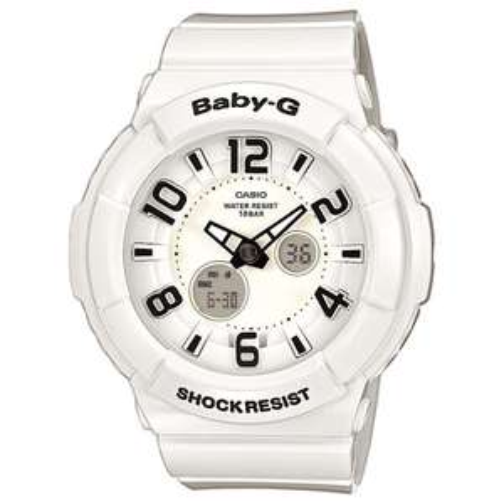Montre Casio G Shock Baby-G BGA-132-7BER Blanc résine