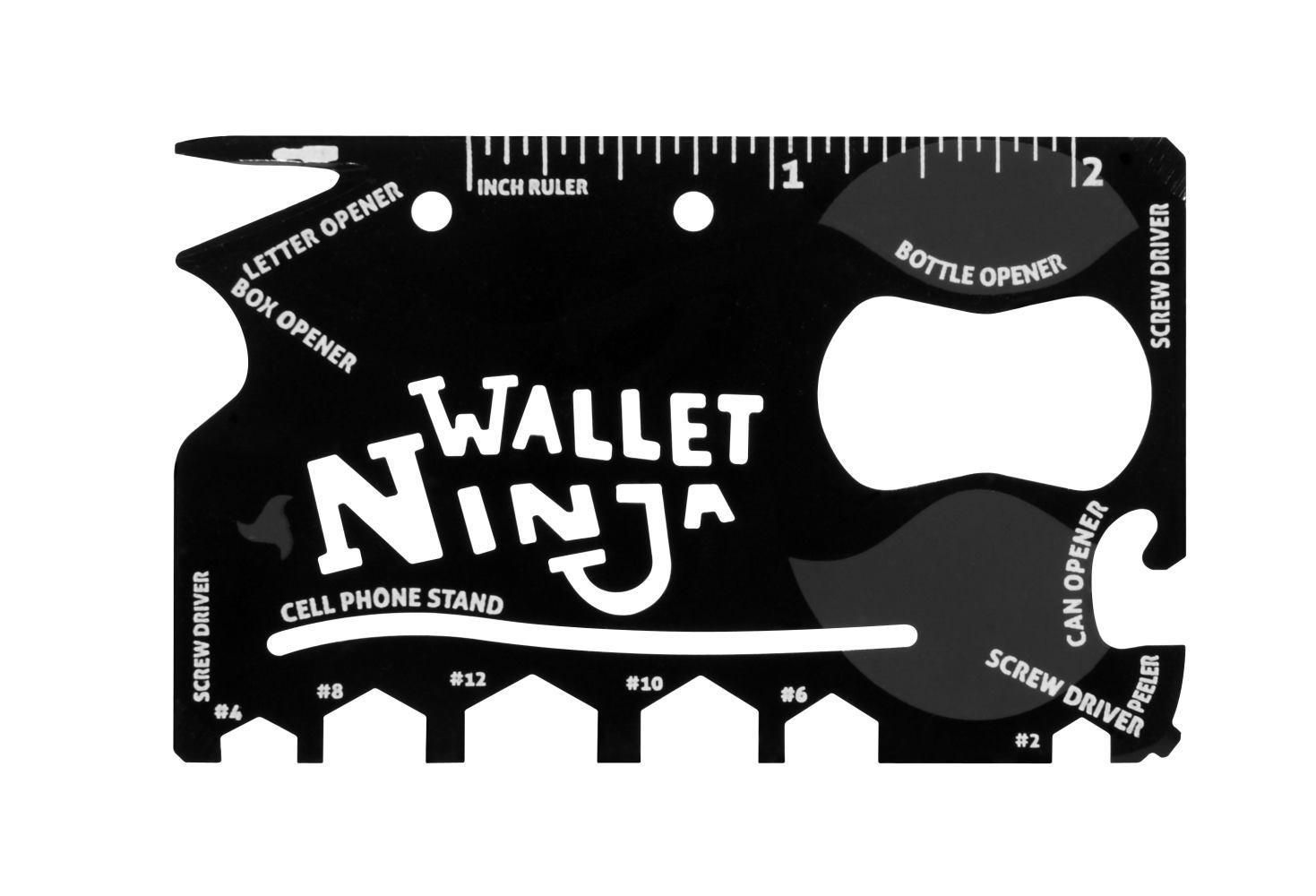 Outil multifonctions 18 en 1 - Wallet Ninja - port inclus