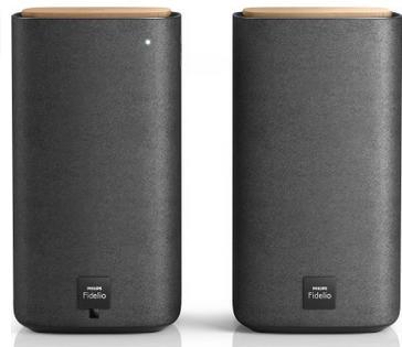 Pack de 2 Enceintes stéréo sans fil Bluetooth Philips Fidelio BTS7000/10  avec basses profondes - 100 W