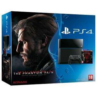 Console  Sony Console PS4 + Metal Gear Solid 5 Edition Standard + Destiny édition légendaire