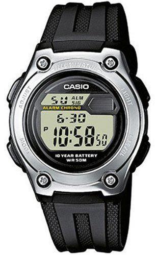 Montre Casio Quartz digitale Homme W-211-1AVES (Etanche 5 ATM)