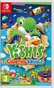 Yoshi Crafted World sur Nintendo Switch (Jaquette anglaise)