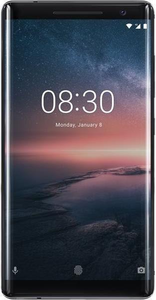 """Smartphone 5.5"""" - Nokia 8 Sirocco - QHD, 128Go de ROM, Snapdragon 835, 6Go de RAM (Frontalier Suisse)"""
