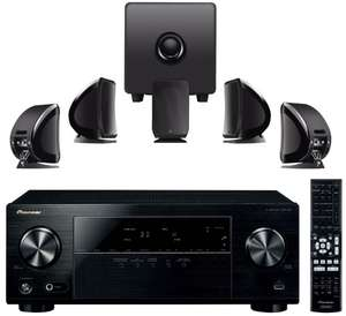 Pack home cinéma Ampli Pioneer VSXS329 + Kit 5.1 Focal Sib and Cub3 Jet Black