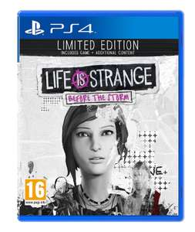 Life is Strange : Before the Storm - Edition Limitée sur PS4 + 1,30€ en Super Points