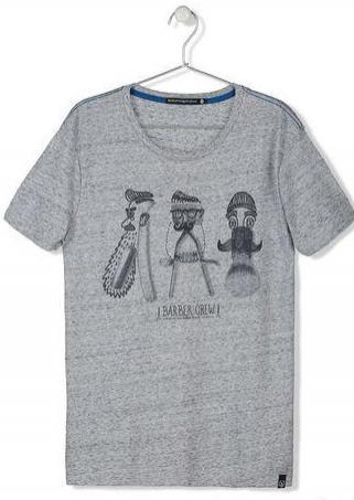 Jusqu'à 50% de réduction  sur une sélection d'articles - Ex : T-shirt Barber Crew Gris