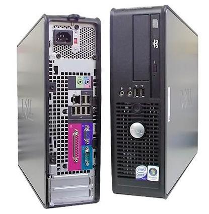 Ordinateur Dell GX760 (Intel Dual Core 2.5Ghz) Reconditionné + Clavier + Souris