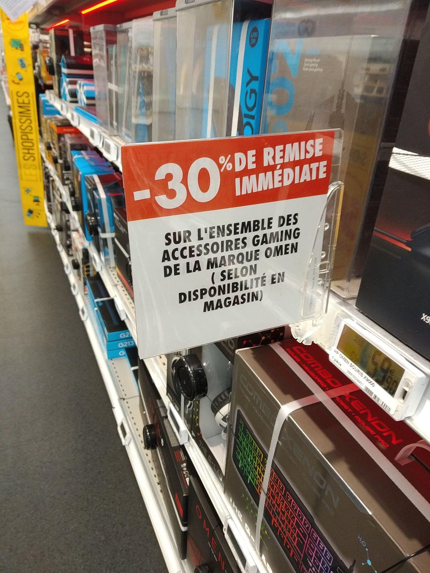 30% de réduction sur les produits Omen -  Carré Sénart (77)
