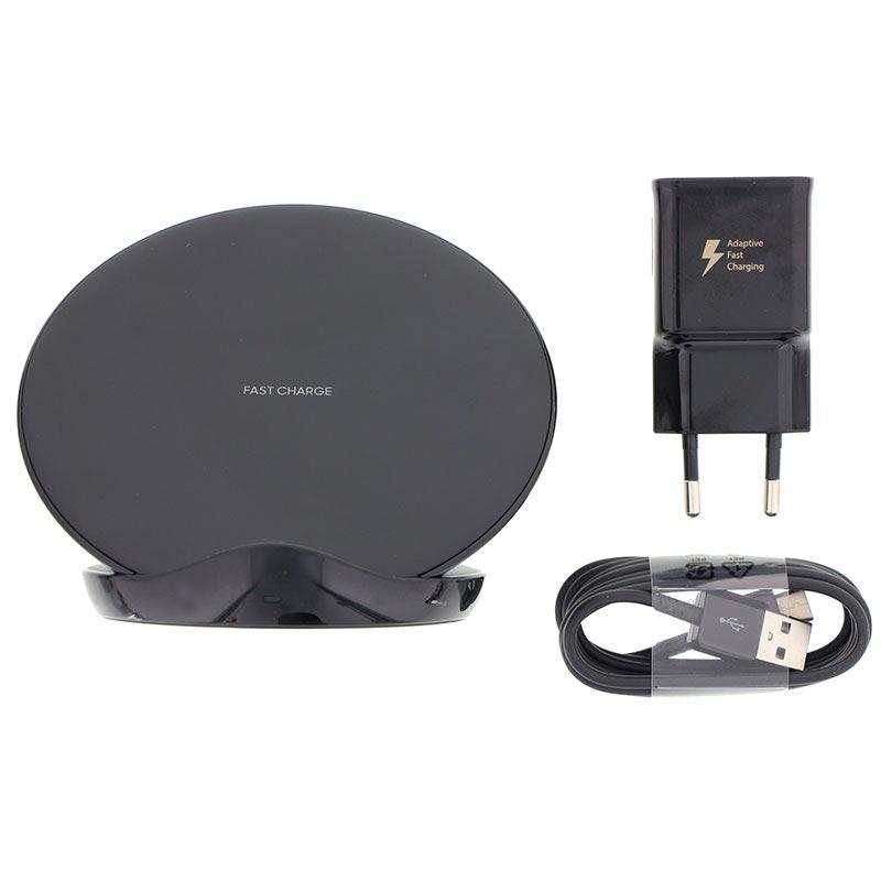 Chargeur sans fil Charge Rapide Samsung EP-N5100TB (2019) avec Chargeur Secteur et câble USB-C (via ODR 30€)