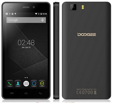 "Smartphone 5"" Doogee X5 Pro HD, 2 Go de ram, 16 Go - Noir ou Blanc"