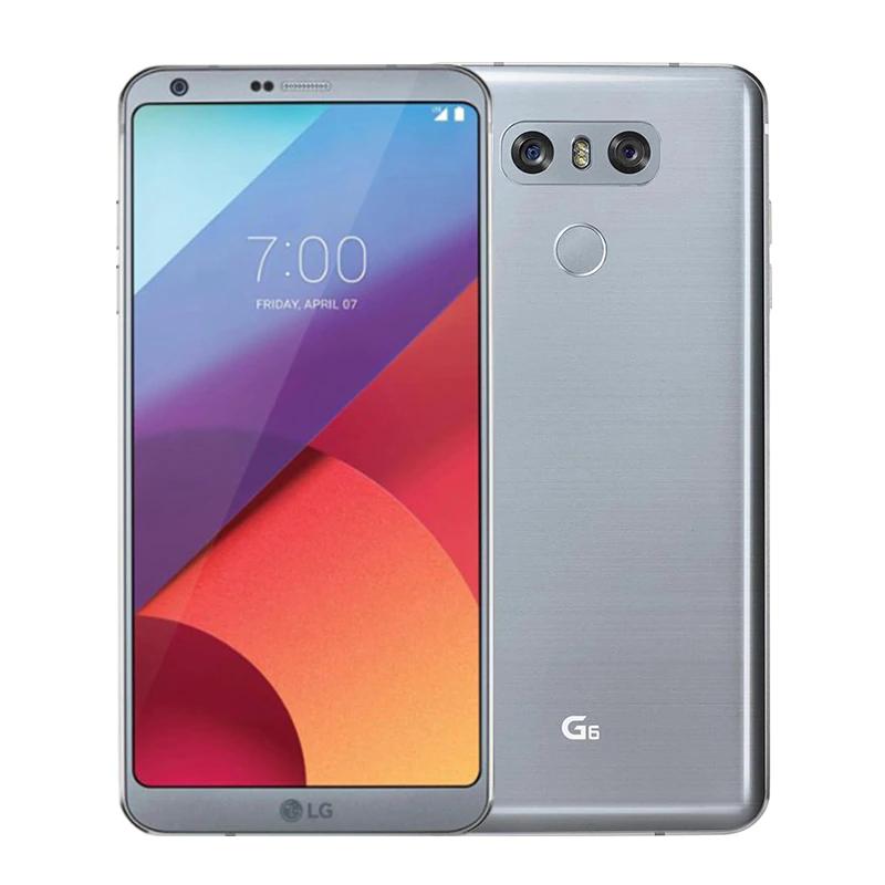 """Smartphone 5.7"""" LG G6 (H871) - 32 Go de ROM, 4 Go RAM (Noir ou Gris - Reconditionné)"""