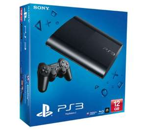 Console Sony PS3 Ultra Slim 12 Go - Noire