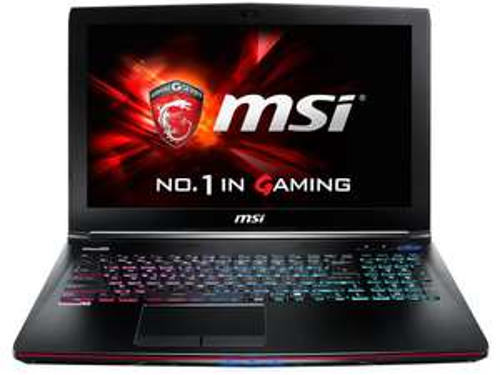 "PC Portable 15.6"" MSI GE62 2QD-024FR - Intel i7-4720HQ, 1 To + SSD 128 Go, 8 Go de Ram, GeForce GTX 960M"