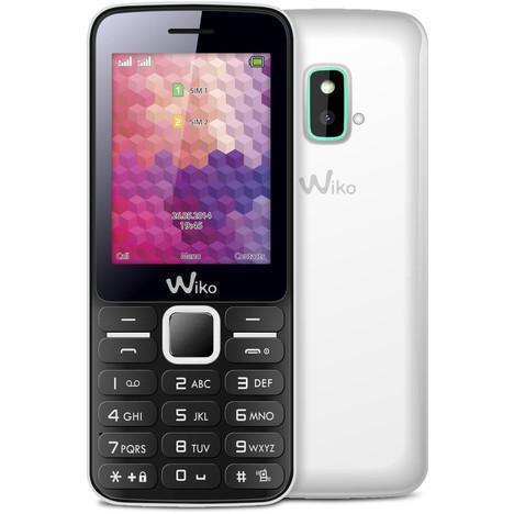 "Téléphone mobile 2,4"" Wiko Riif - double sim - Blanc"