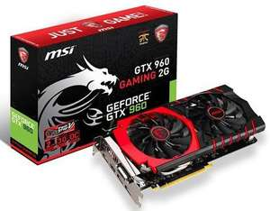 Carte graphique MSI GTX960 Gaming 2G