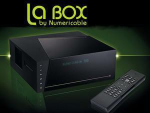 Abonnement 1 an La Box Fibre Numéricable - Ex : Box Starter 100Mb/s - 200 chaînes, par mois