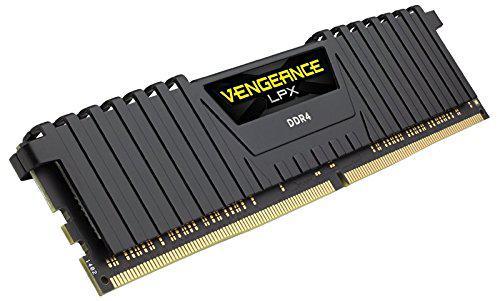 Barrettes de ram Corsair Vengeance LPX Black DDR4 - 2 x 8 Go - 2133 MHz - Cas 13