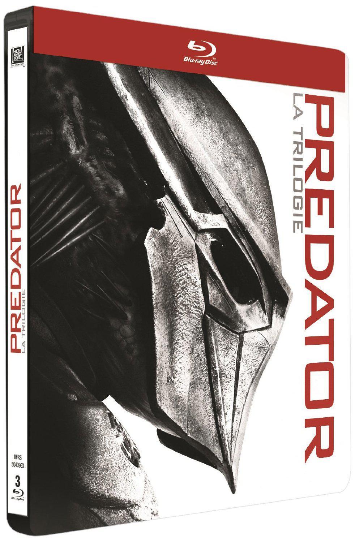 Coffret Blu-ray Predator : La trilogie (Édition Limitée boîtier SteelBook)