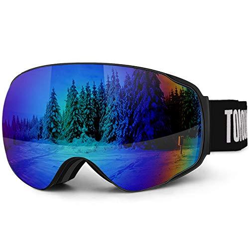 Lunettes Masques de Ski Tomount - Anti-UV400, Noir (vendeur tiers)