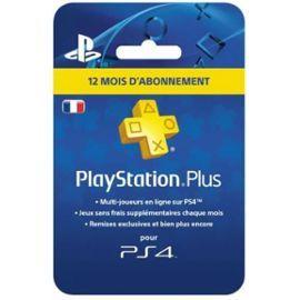 Abonnement 12mois au PlayStation Plus (+ 12.5€ en SuperPoints)