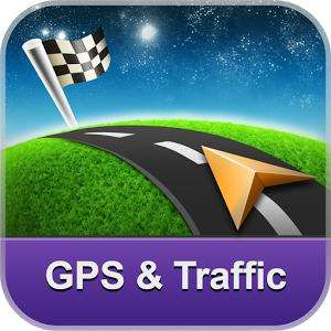 Application GPS Navigation & Traffic Sygic sur Android