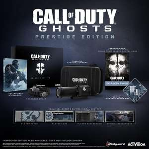 Call Of Duty Ghosts Édition Prestige sur Xbox 360