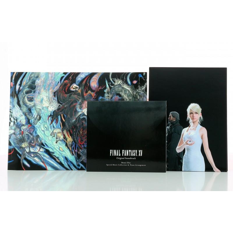 CD OST du Jeu Final Fantasy XV - Edition Limitée