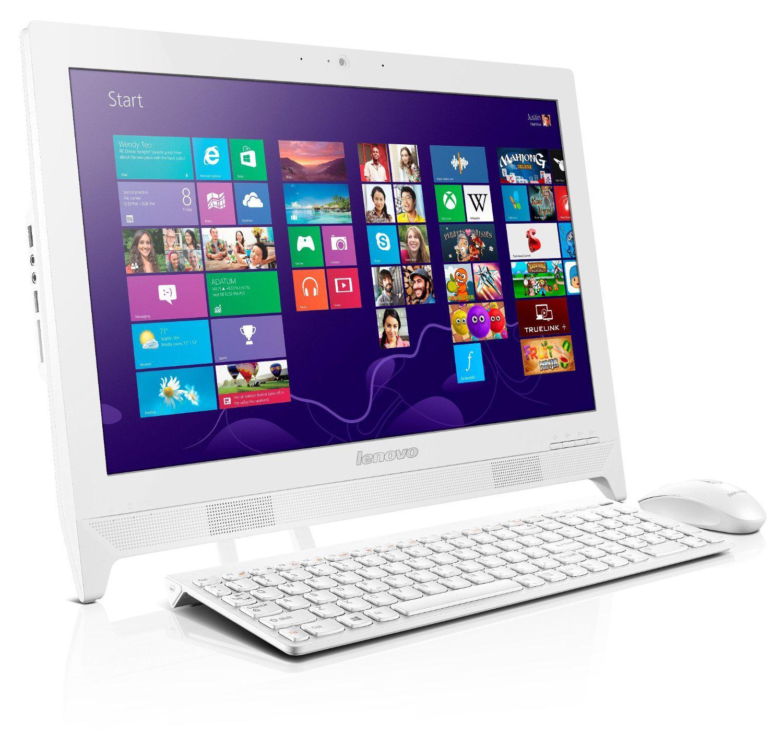 """PC de bureau 19.5"""" Tout-en-un Lenovo C260-57331456 - Intel Celeron J1900 QC, 1 To, 4 Go de Ram"""