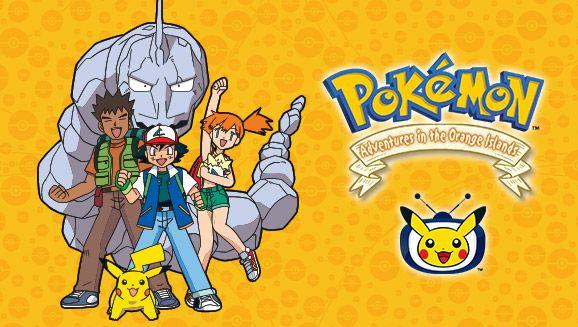 L'intégrale de Pokémon : Les Îles Orange (Saison 2) visionnable gratuitement en streaming