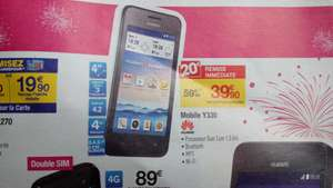"Smartphone 4"" Huawei Ascend Y330"