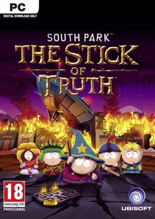 Jeu South park : le bâton de la vérité sur PC version non censure  (Dématérialisé, Uplay)