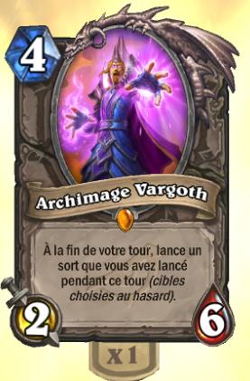 Carte légendaire Archimage Vargoth pour Hearthstone gratuite pour toute connexion au jeu (dématérialisée)