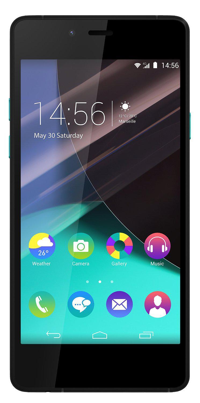 "Smartphone 4.8"" Wiko Highway Pure 16 Go - Noir/Turquoise (Retrait gratuit en magasin)"