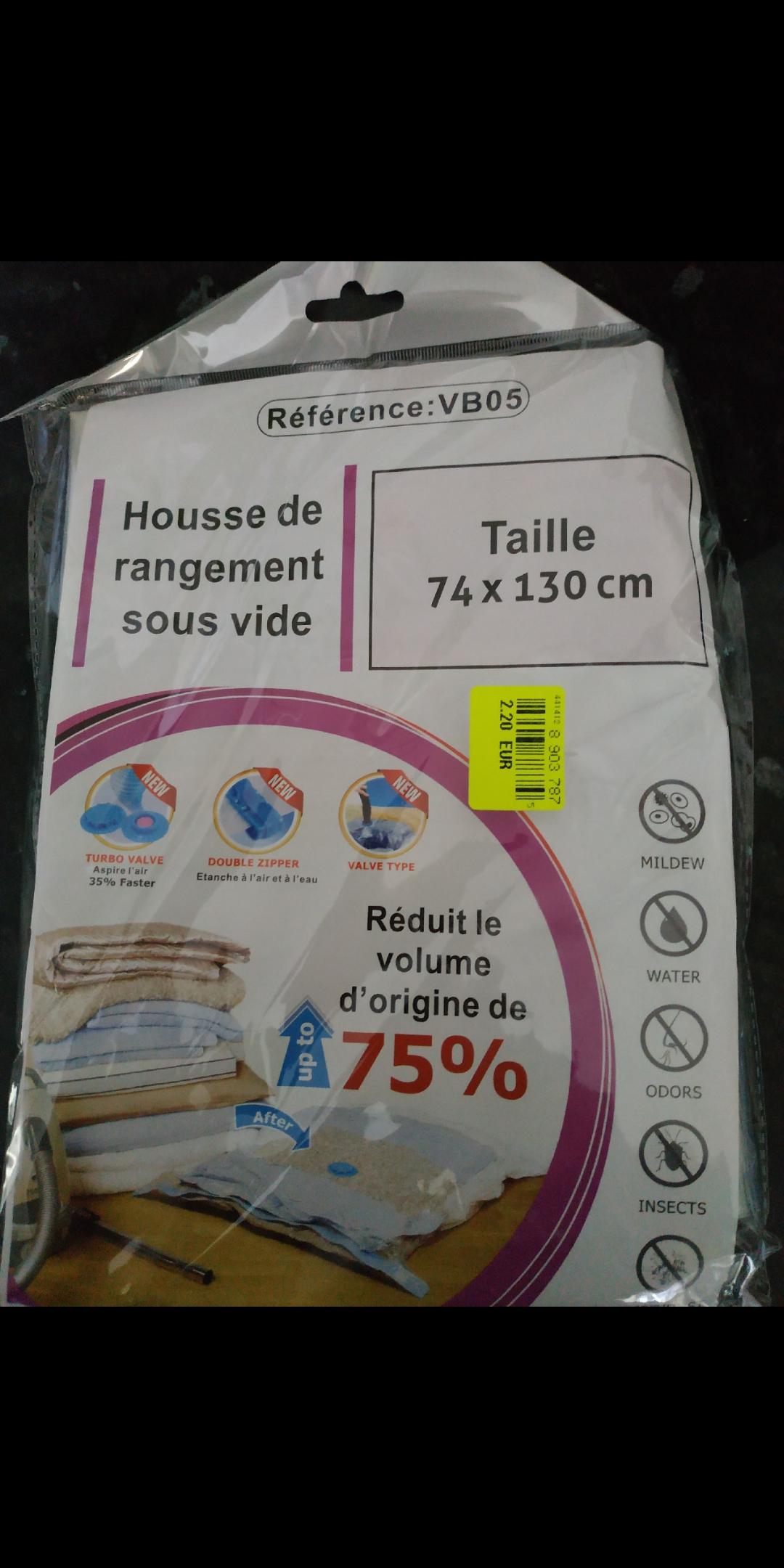 Housse de Rangement Sous-vide -NOZ  Évreux (27)
