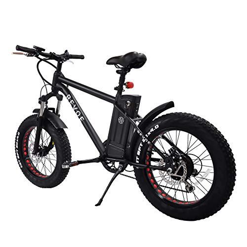 """Vélo Fat 20"""" électrique REVOE pour Adulte, Noir"""