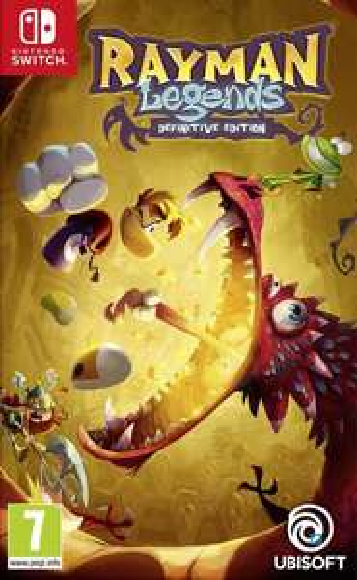 Sélection de jeux vidéo en promotion - Ex : Rayman Legends: Definitive Edition sur Nintendo Switch